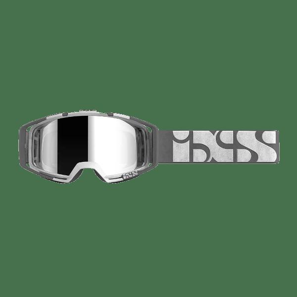 IXS TRIGGER GOGGLES WHITE/MIRROR SILVER