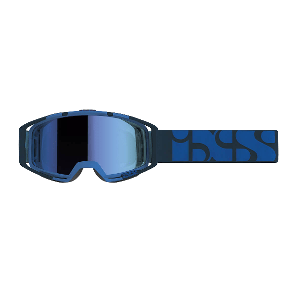 IXS TRIGGER GOGGLES BLUE/MIRROR COBALT BLUE