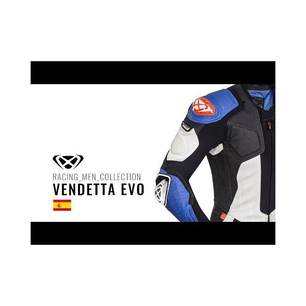 VENDETTA EVO BLACK/RED/WHITE
