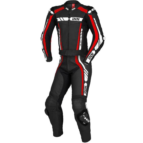RS-800 1.0 LD SPORT SUIT 2PC BLACK/RED/WHITE