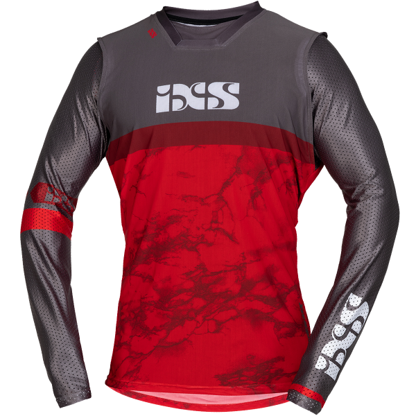 TRIGGER MX JERSEY   RED/GREY